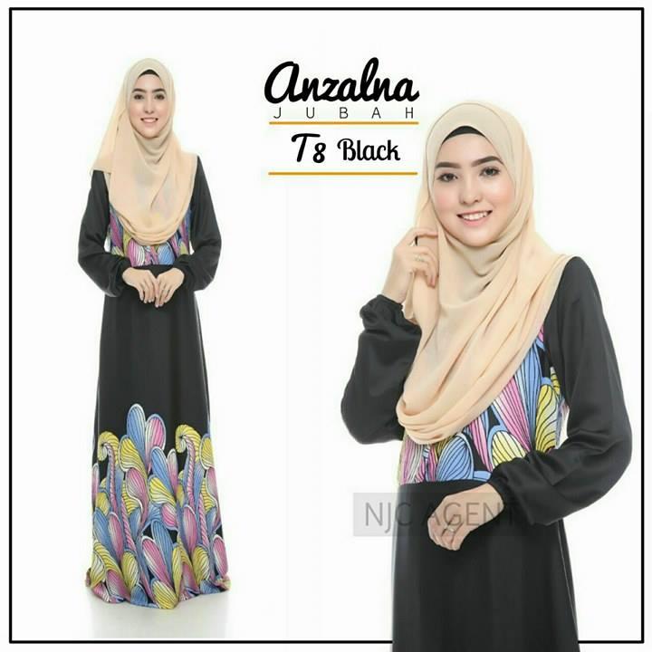 jubah-motif-anzalna-t8-black