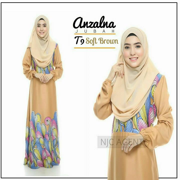 jubah-motif-anzalna-t9-soft-brown