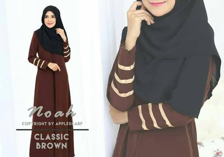 jubah-noah-classic-brown