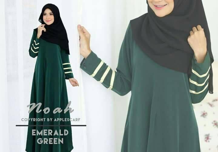 jubah-noah-emerald-green
