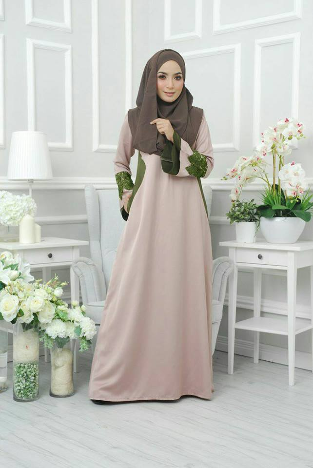 jubah-satin-neesa-tortilla-brown