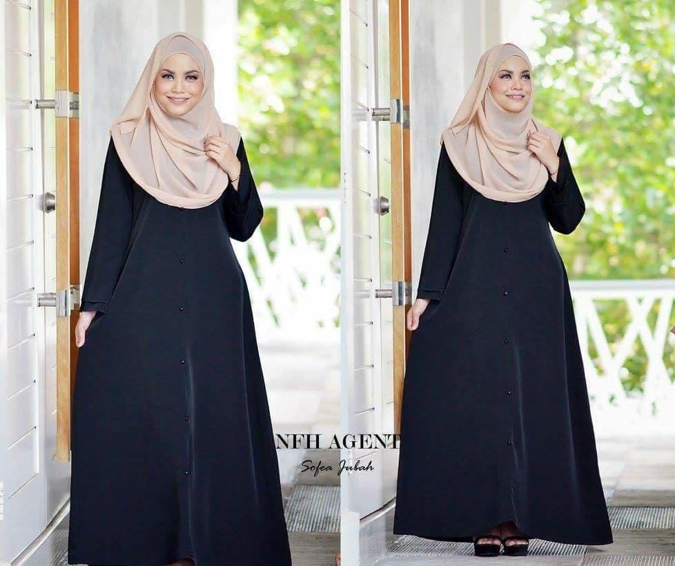 jubah-sofea-black