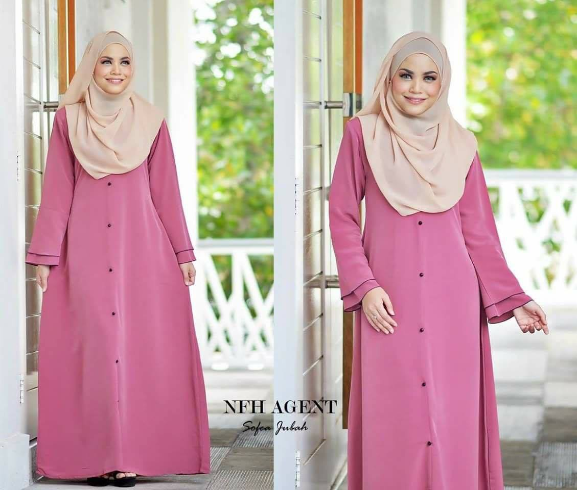 jubah-sofea-dusty-pink