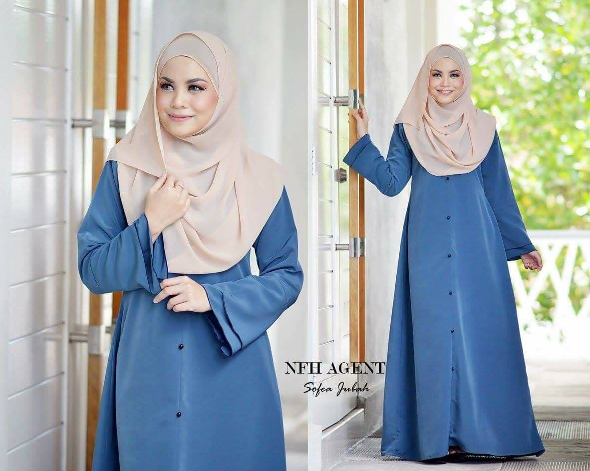 jubah-sofea-grey-blue