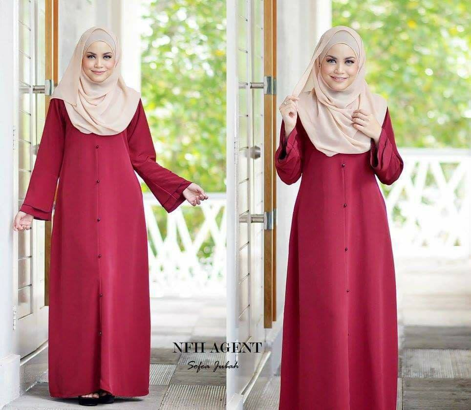 jubah-sofea-red-maroom