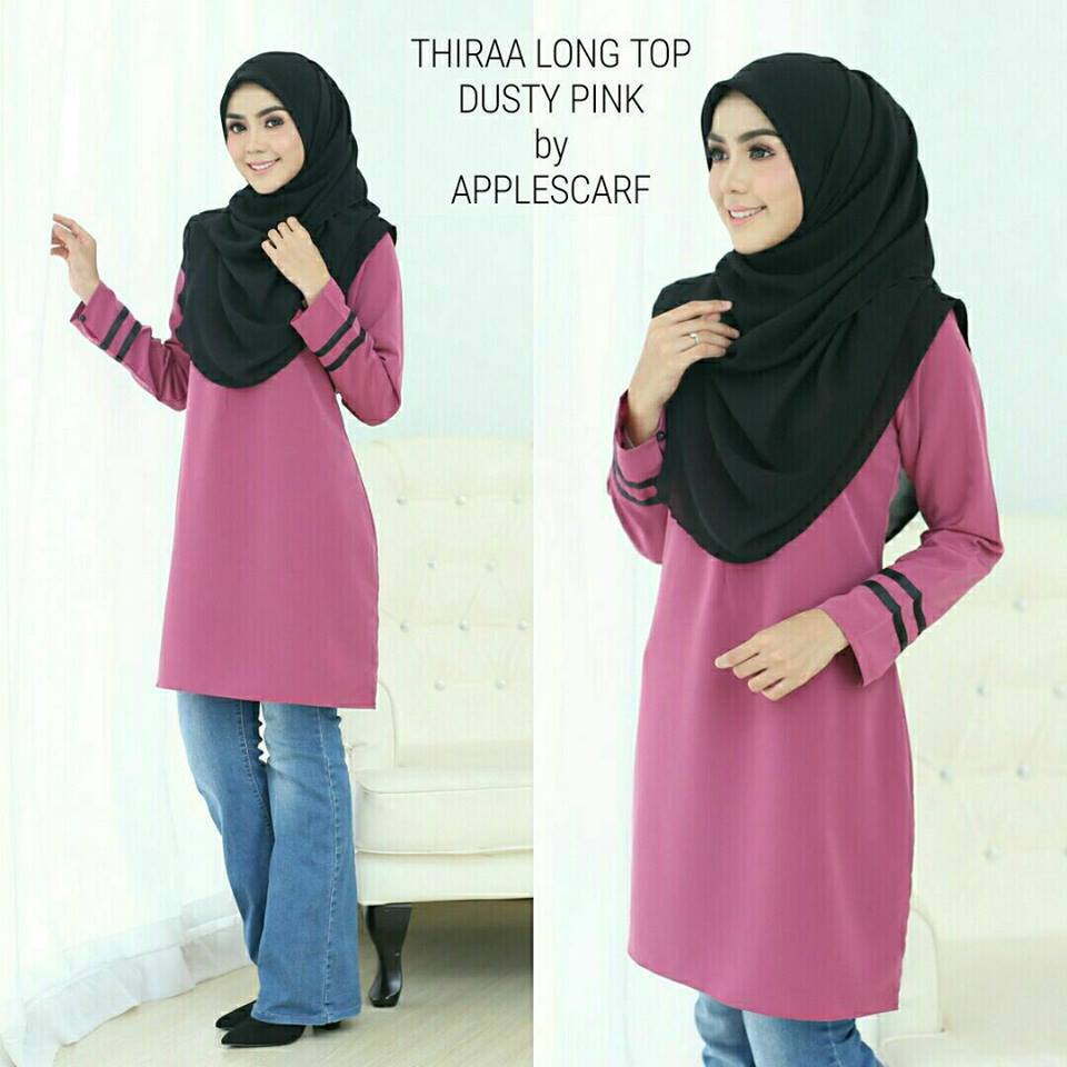 long-top-muslimah-thiraa-dusty-pink