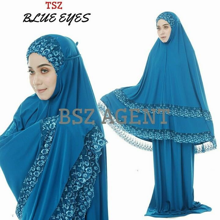 telekung-lycra-renda-blue-eyes