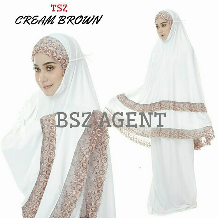 telekung-lycra-renda-cream-brown