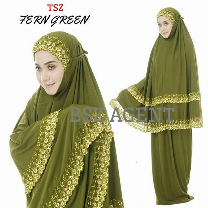 telekung-lycra-renda-fern-green