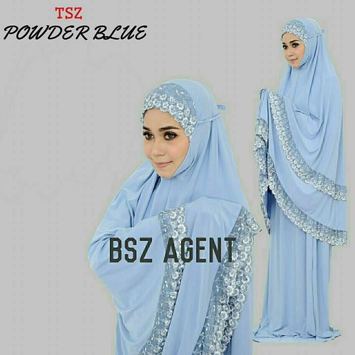 telekung-lycra-renda-powder-blue