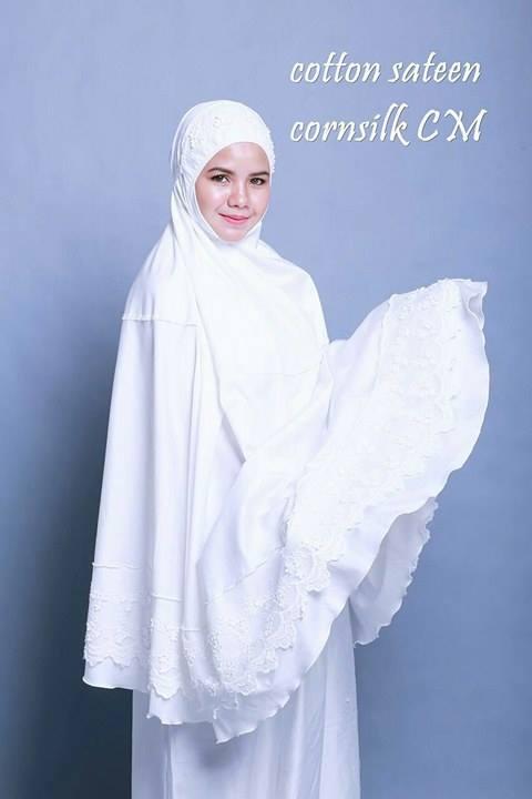 telekung-renda-premium-cotton-sateen-cornsilk-9