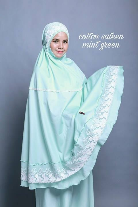 telekung-renda-premium-cotton-sateen-mint-green