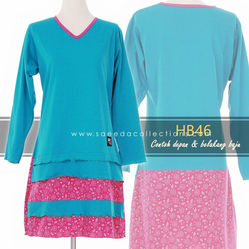 tshirt-muslimah-cotton-kod-hb46-full