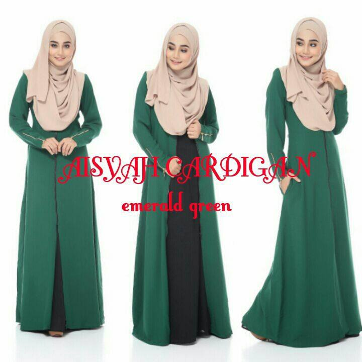 aisyah-cardigan-e-green