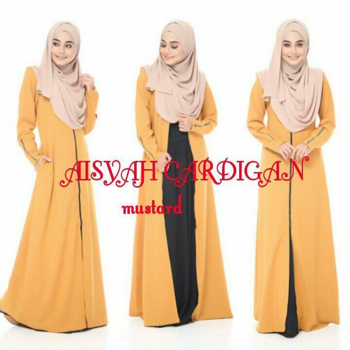 aisyah-cardigan-mustard