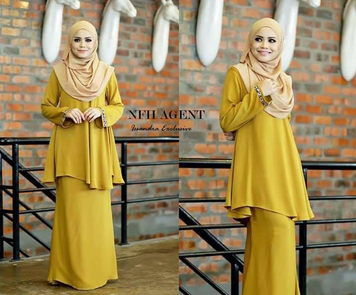 baju-kurung-moden-issandra-mustard-gold