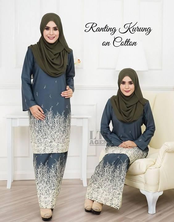 baju-kurung-moden-motif-ranting-grey