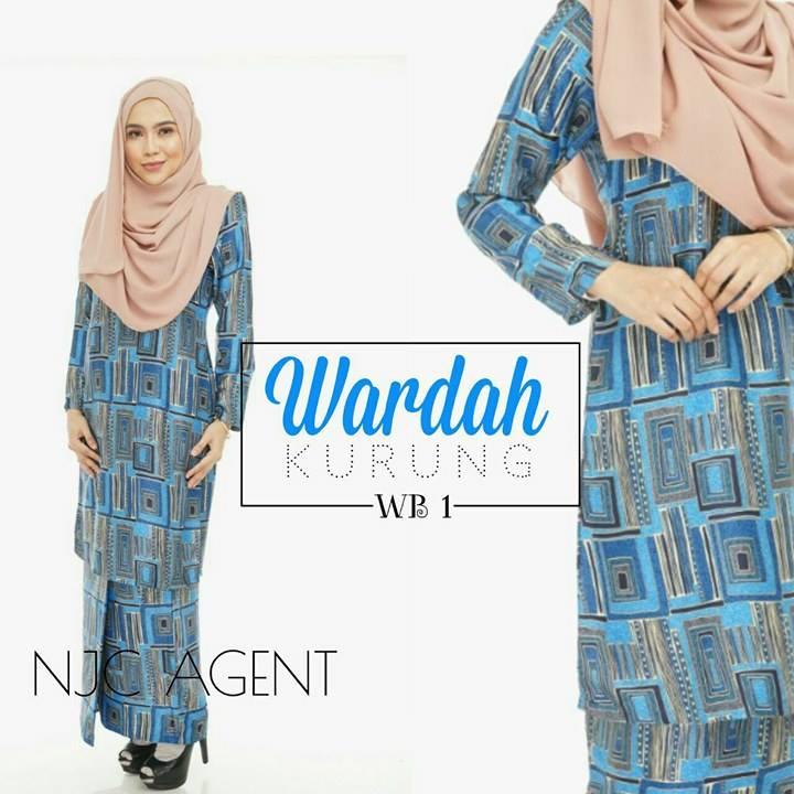 baju-kurung-moden-wardah-kod-wb01