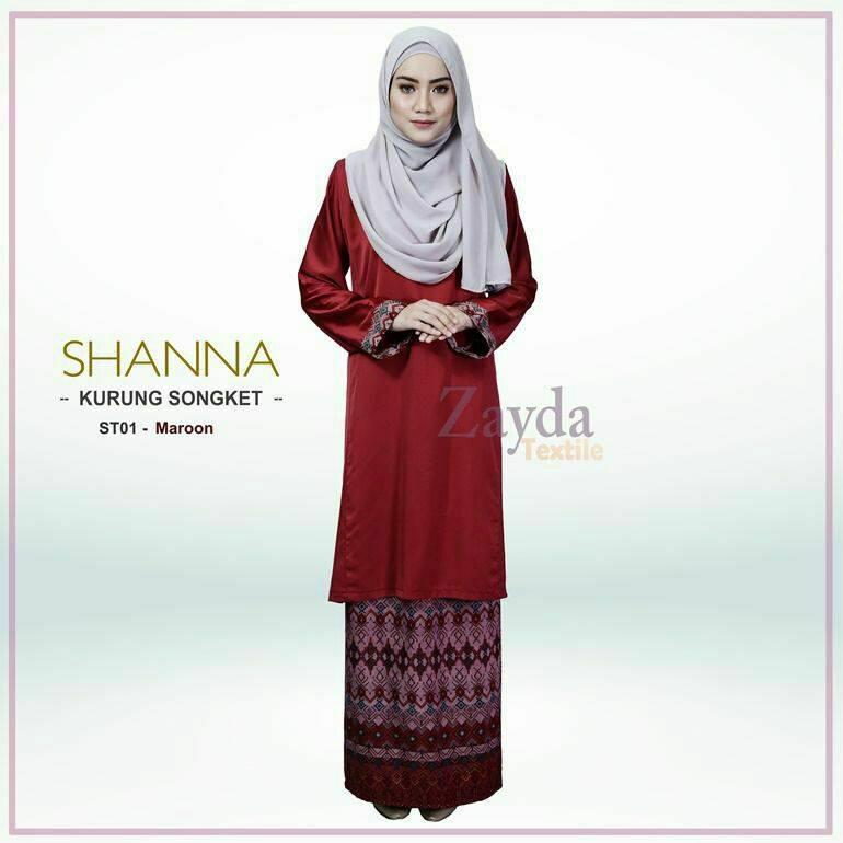 baju-kurung-songket-shanna-st01-maroon