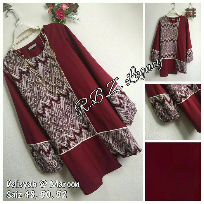 blouse-delisyah-maroon