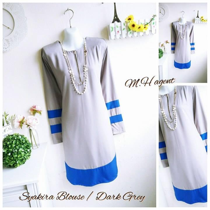 blouse-muslimah-moss-crepe-syakira-dark-grey