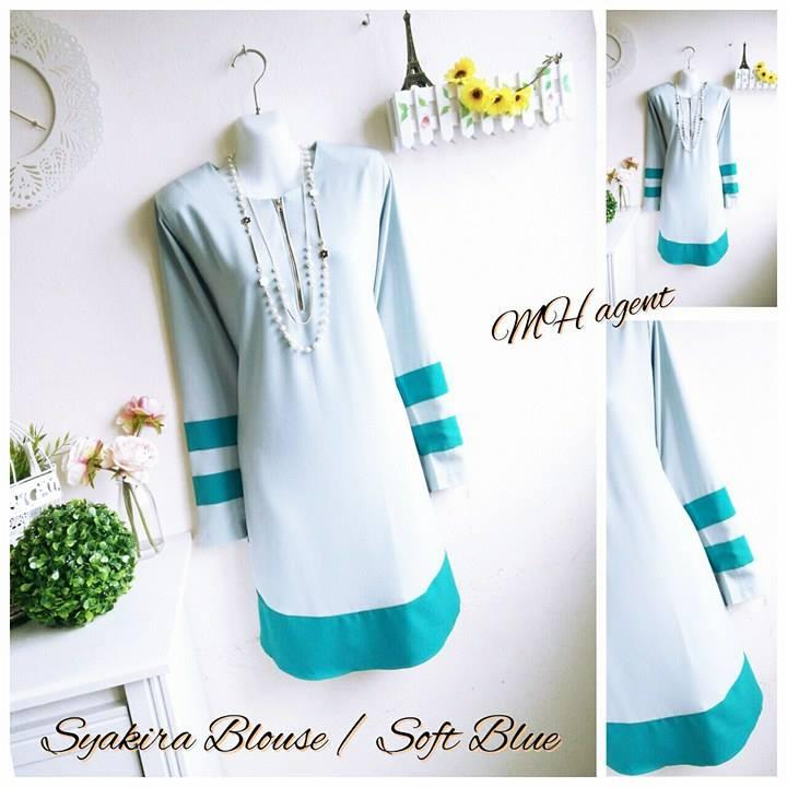 blouse-muslimah-moss-crepe-syakira-soft-blue