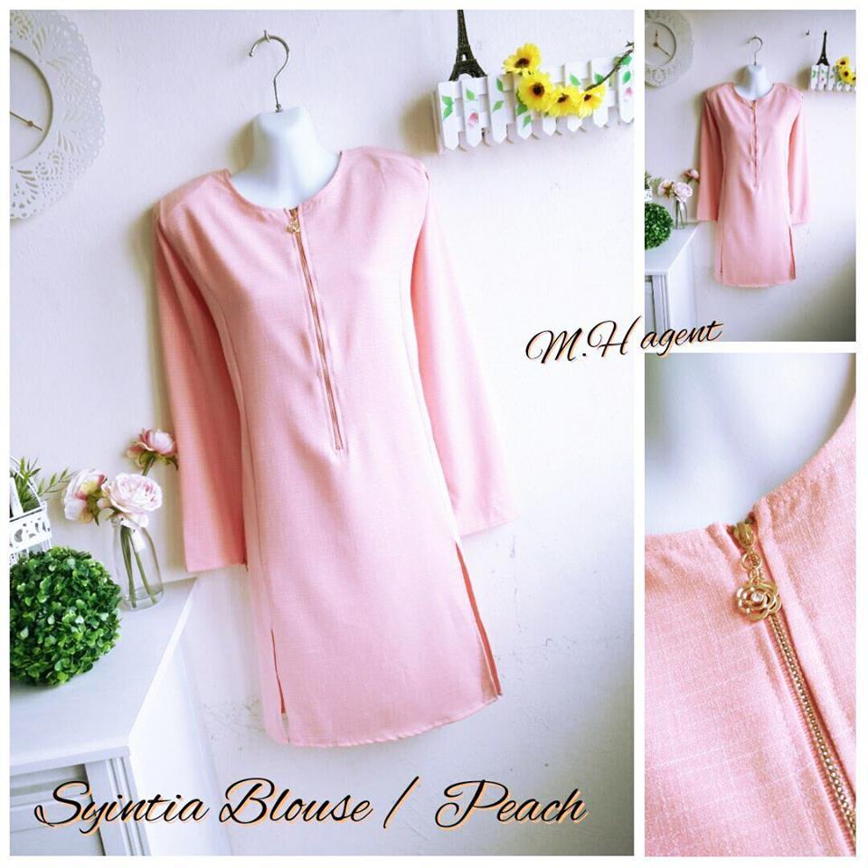 blouse-muslimah-syintia-peach