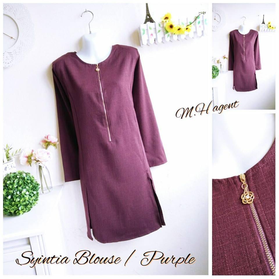 blouse-muslimah-syintia-purple