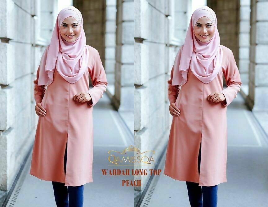 blouse-muslimah-wardah-peach