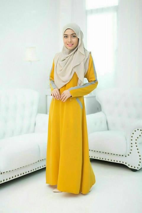 jubah-qaisara-yellow