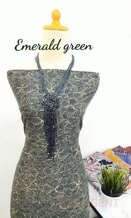 kain-pasang-ordeo-cartagena-emerald-green
