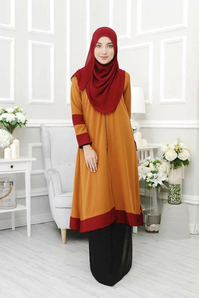 long-cardigan-tulip-gold-maroon-b