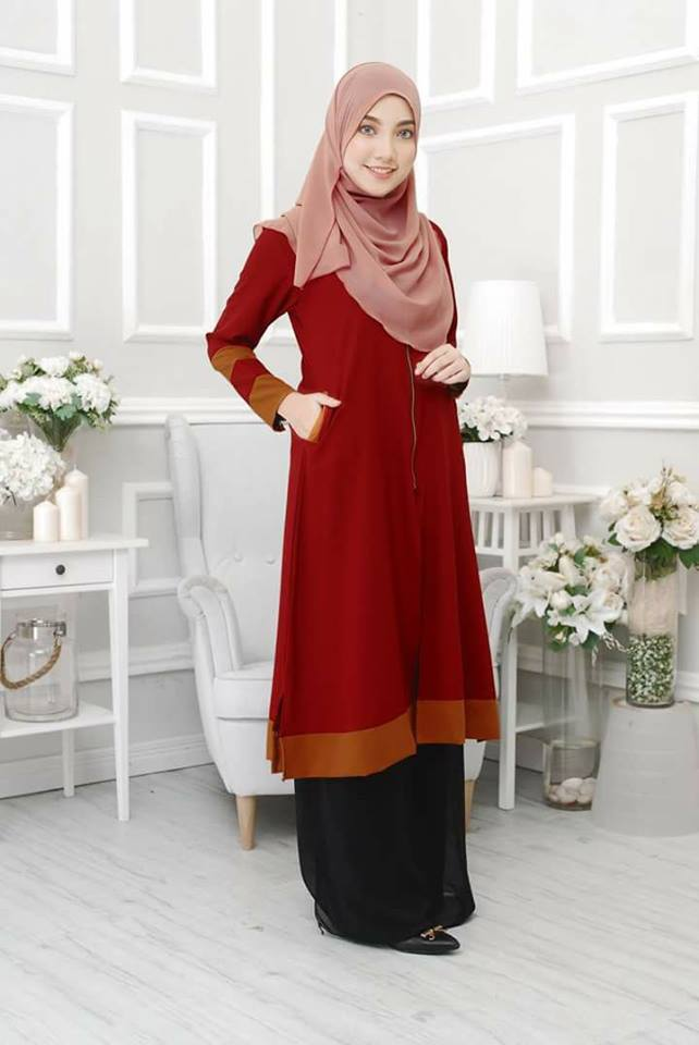 long-cardigan-tulip-maroon-gold-a