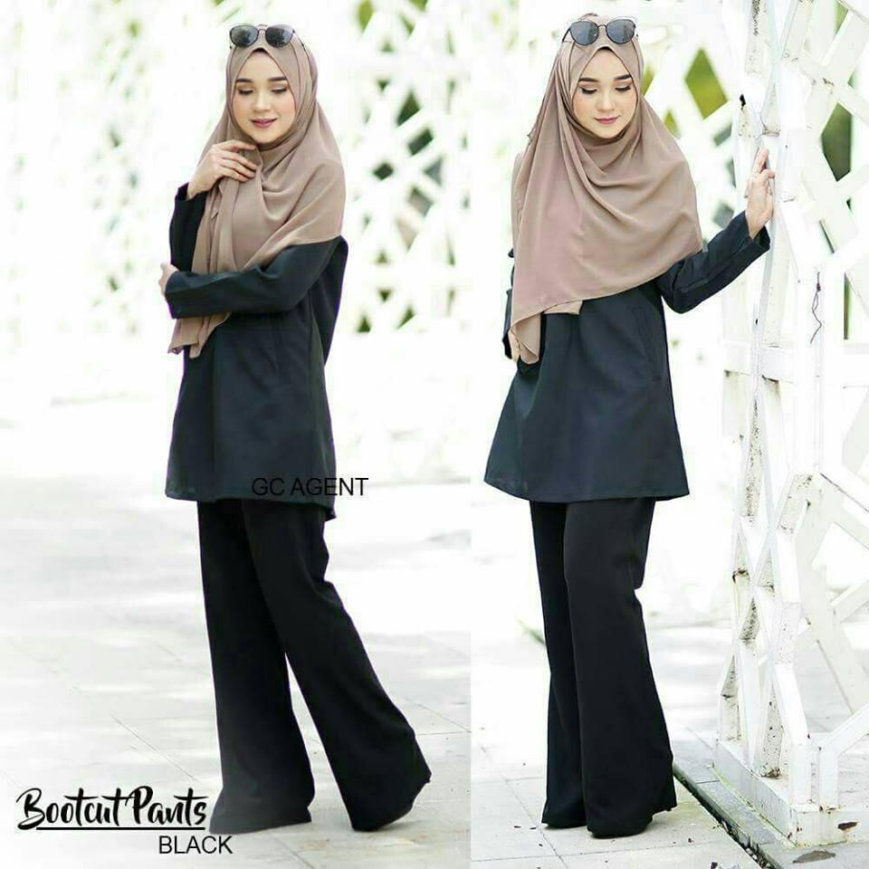 bootcut-pants-black