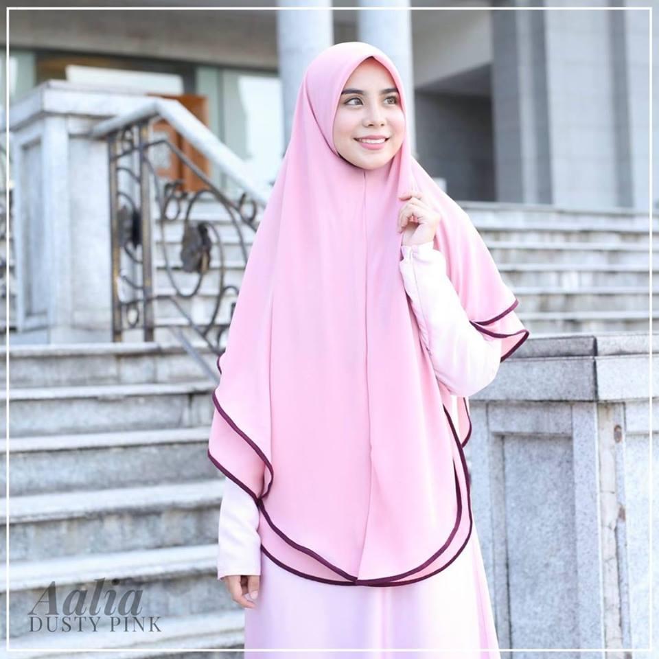 tudung-labuh-aalia-dusty-pink