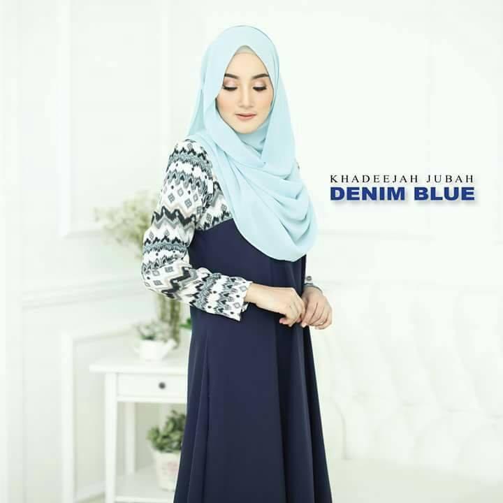 jubah-khadeeja-denim-blue