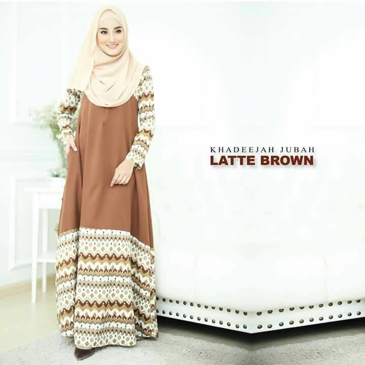 jubah-khadeeja-latte-brown-a