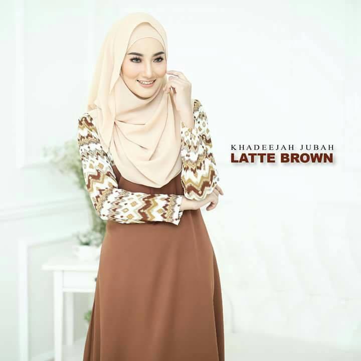 jubah-khadeeja-latte-brown