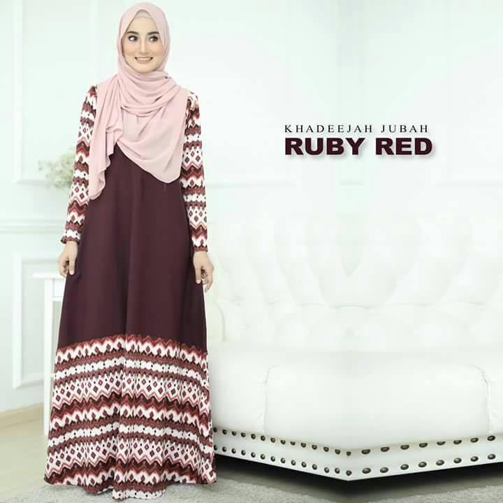jubah-khadeeja-ruby-red-a