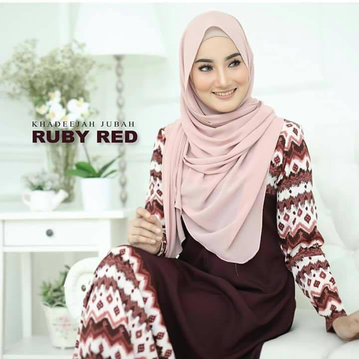 jubah-khadeeja-ruby-red