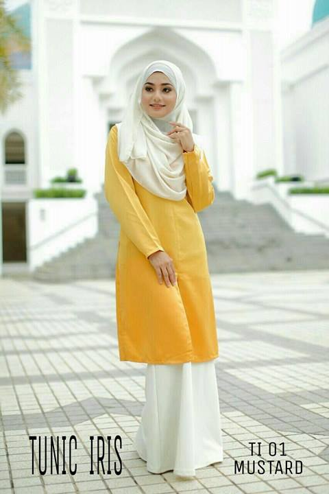 TUNIC IRIS SATIN TI01
