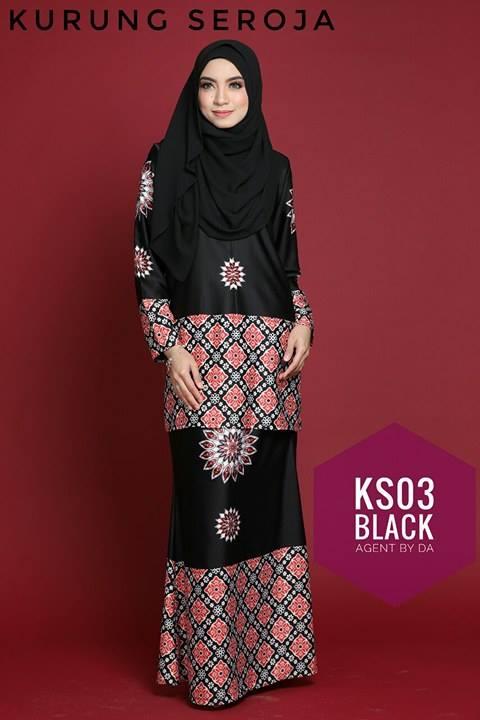 BAJU KURUNG MODEN SEROJA KS03