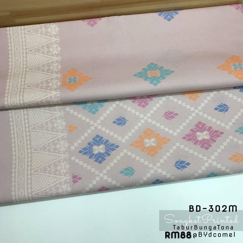KAIN PASANG SONGKET COTTON BD302M