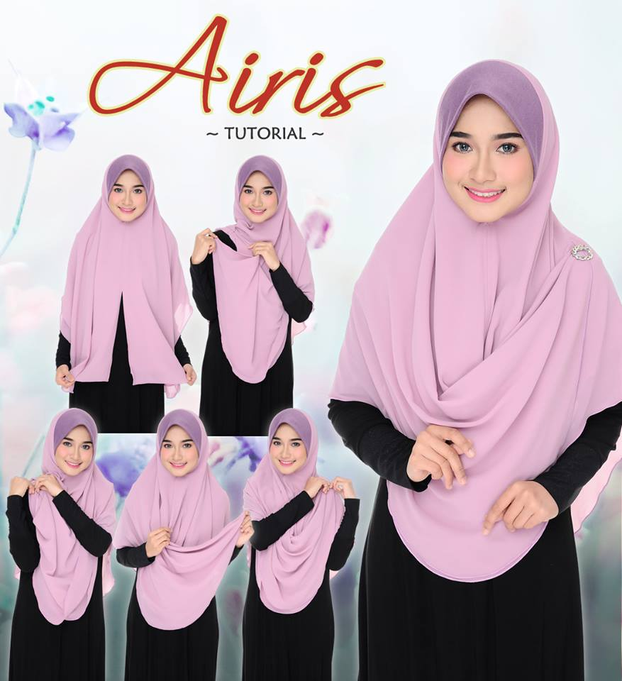 SHAWL CHIFFON AIRIS TUTORIAL
