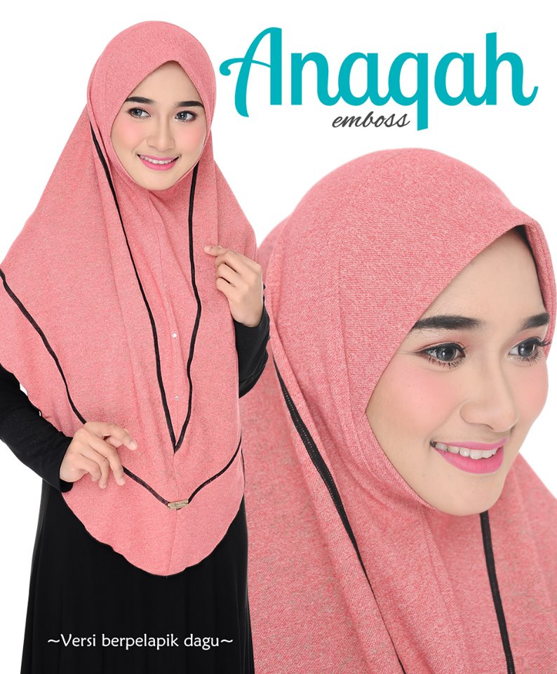 TUDUNG DENIM ANAQAH SAIZ XL CLOSE UP