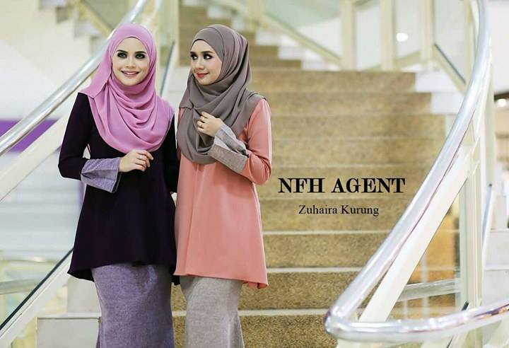 BAJU KURUNG ZUHAIRA TUNIC ALL 2
