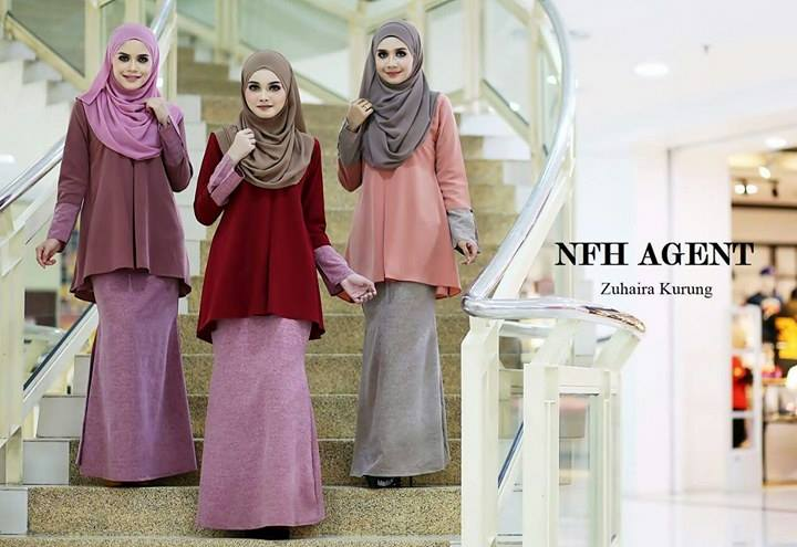 BAJU KURUNG ZUHAIRA TUNIC ALL 3