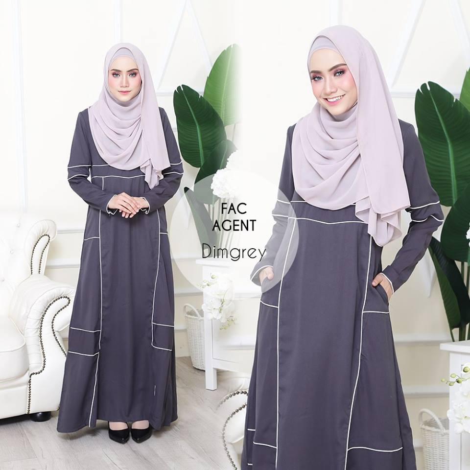 DRESS AAIRA DIMGREY