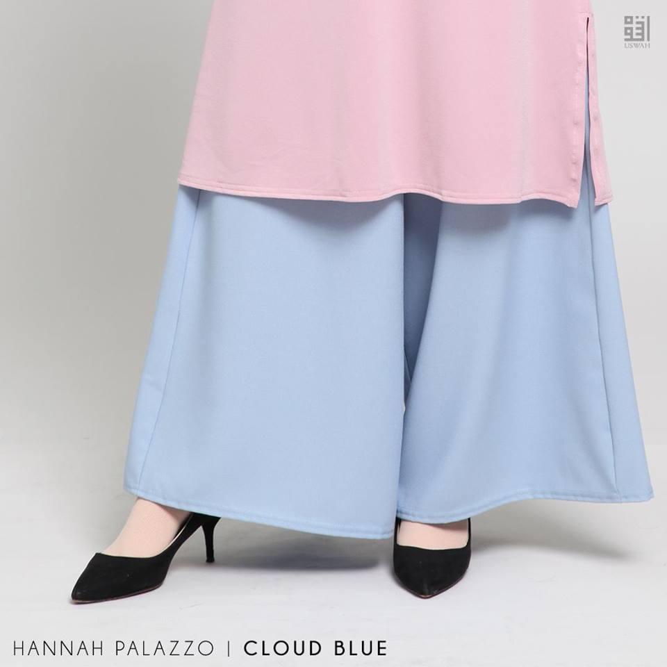 PALAZZO HANNAH CLOUD BLUE
