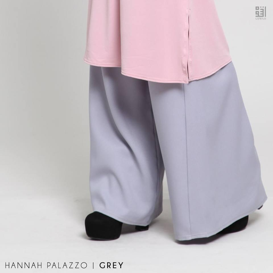 PALAZZO HANNAH GREY